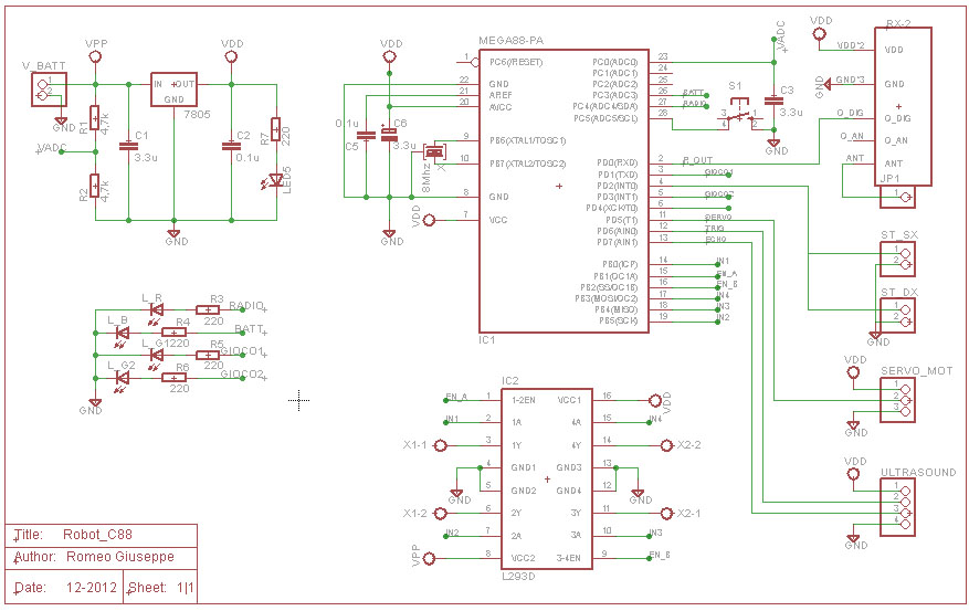 Schema circuitale in Eagle