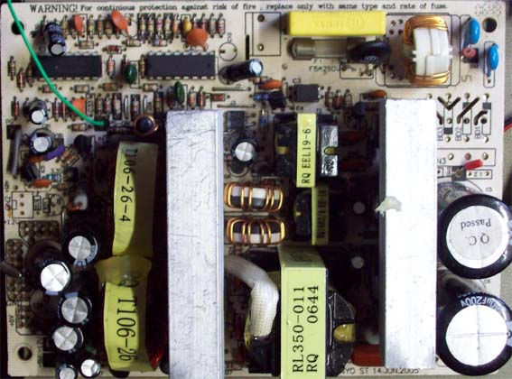 Schema Elettrico Tv Samsung : Riparare un atx switching power supply electroyou