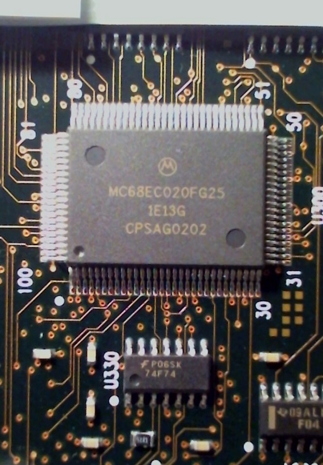 Microcontroller MC68EC020