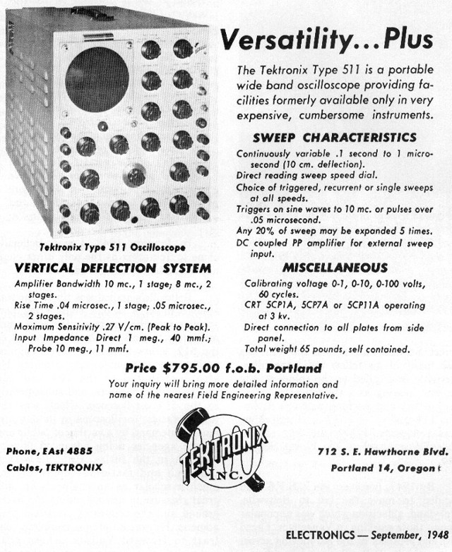Fig.6-Volantino Tektronix Model 511