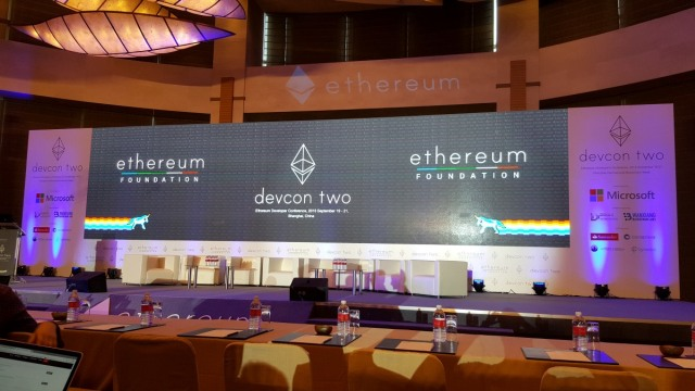 Ethereum Devcon Conference 2016
