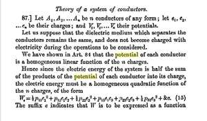 Theory of systems of conductors